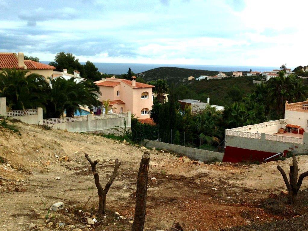 Plot for sale in Cumbre del Sol Benitachell
