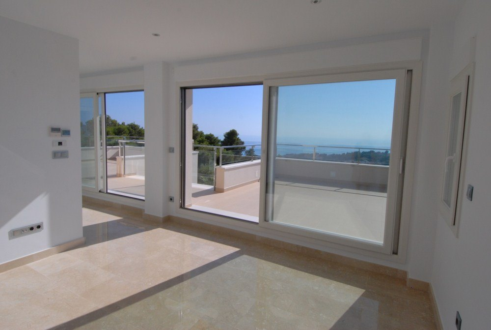 Luxury villa with sea views for sale in Moraira, San Jaime