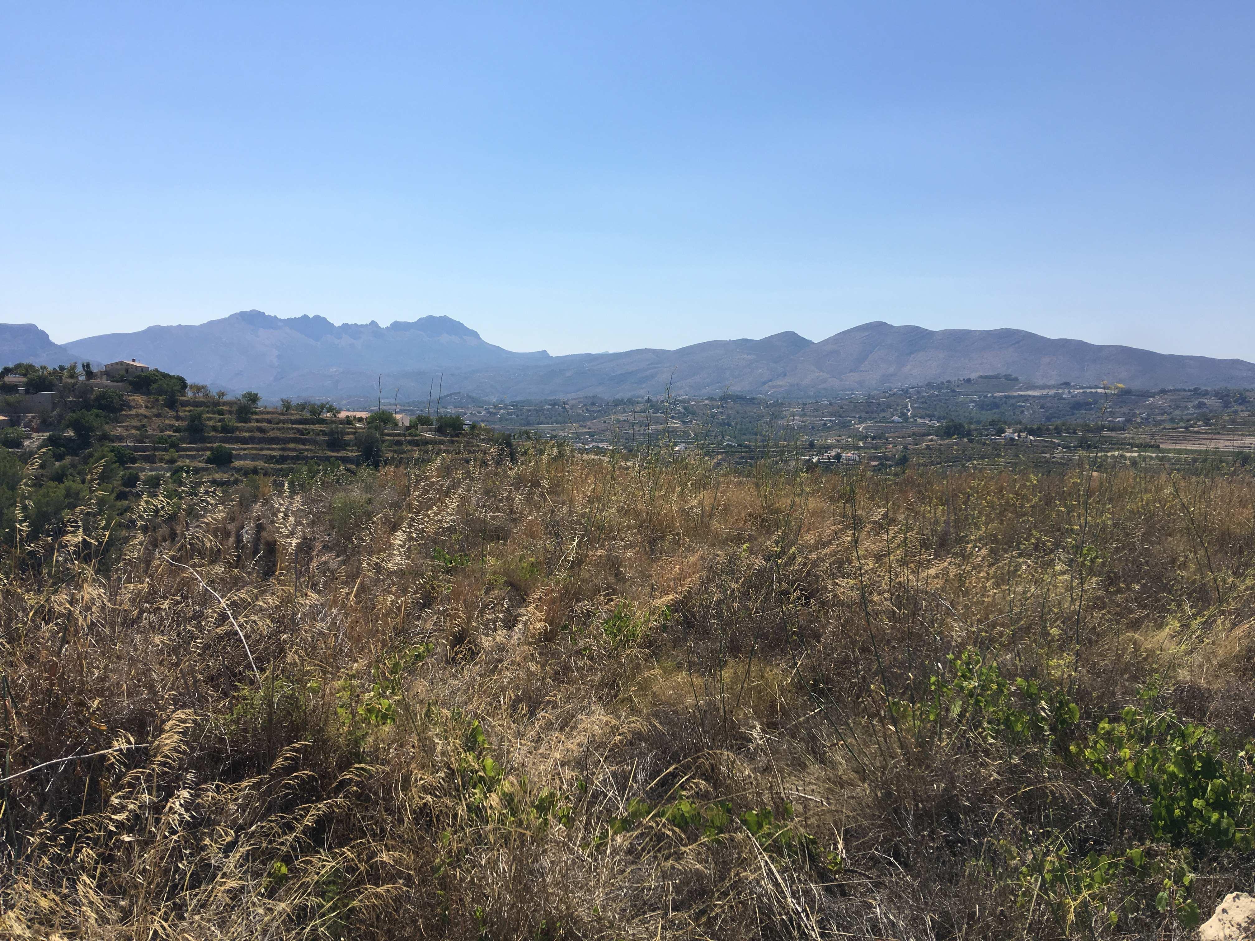 Rustic plot for sale in Benissa