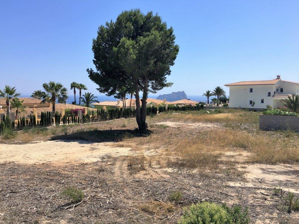 Sea view plot for Sale in Teulada-Moraira, Coma Dels Frailes
