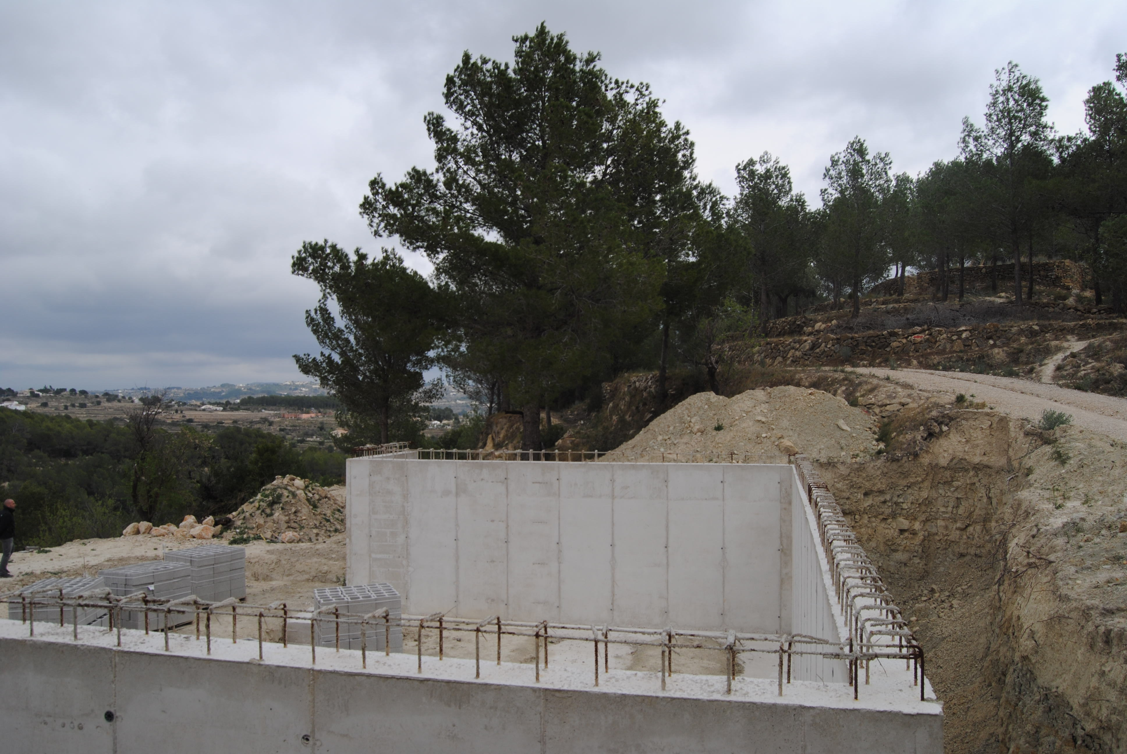 Plot with building permissions for sale in Benissa
