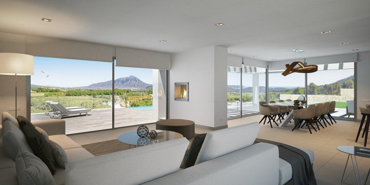Modern villa for sale in Javea, Villes del Vent