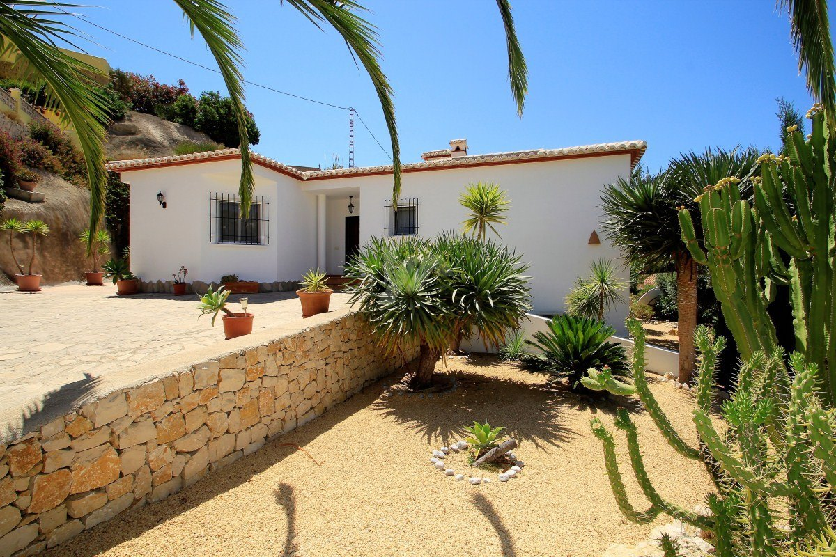Immaculate villa for sale in Benissa, Costa blanca.