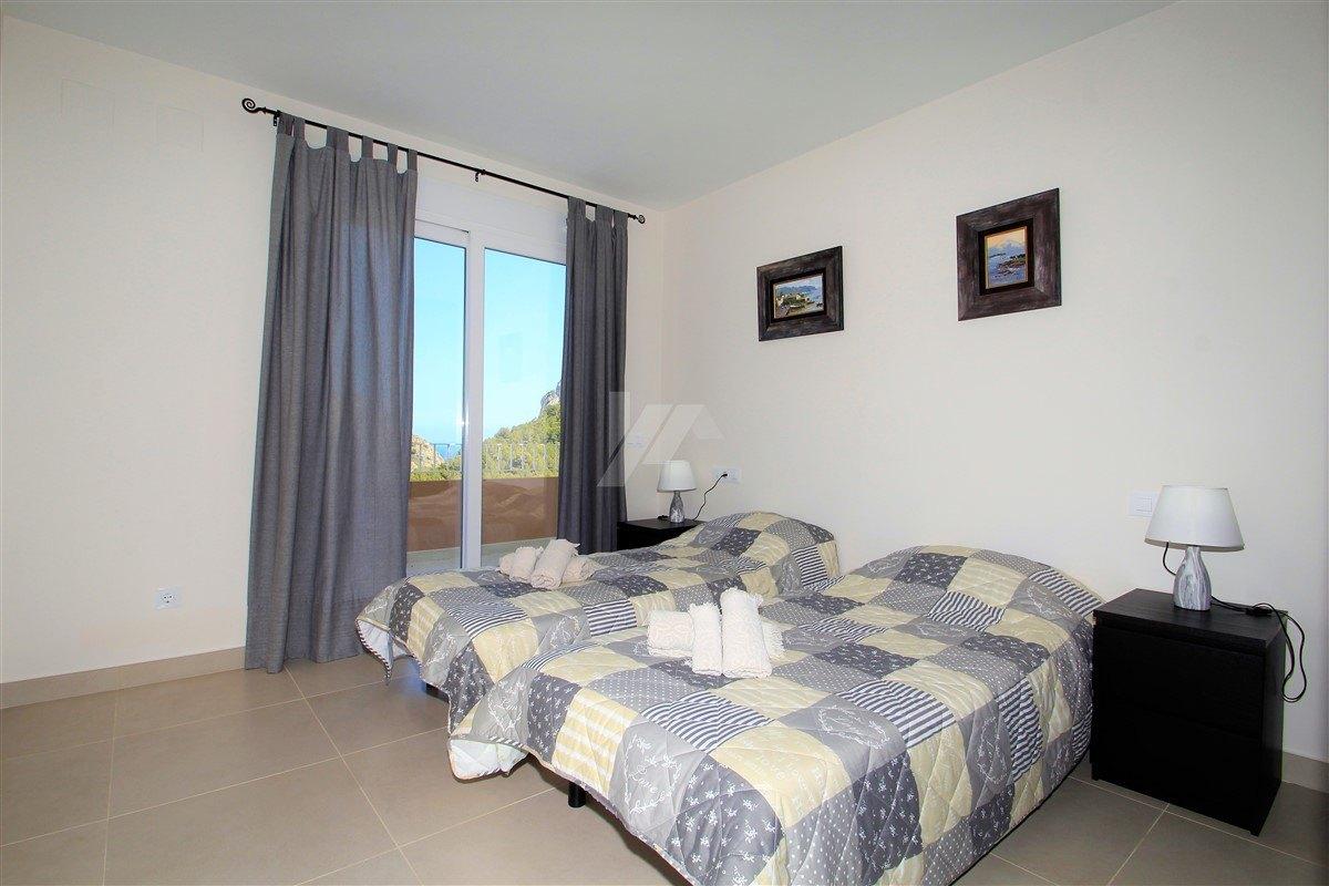 New build villa for sale in Moraira, sea view.