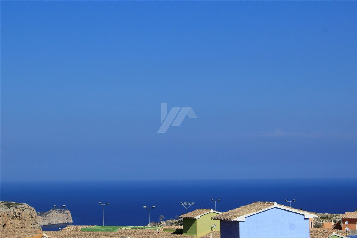 Apartment for sale in Benitachell, sea view.