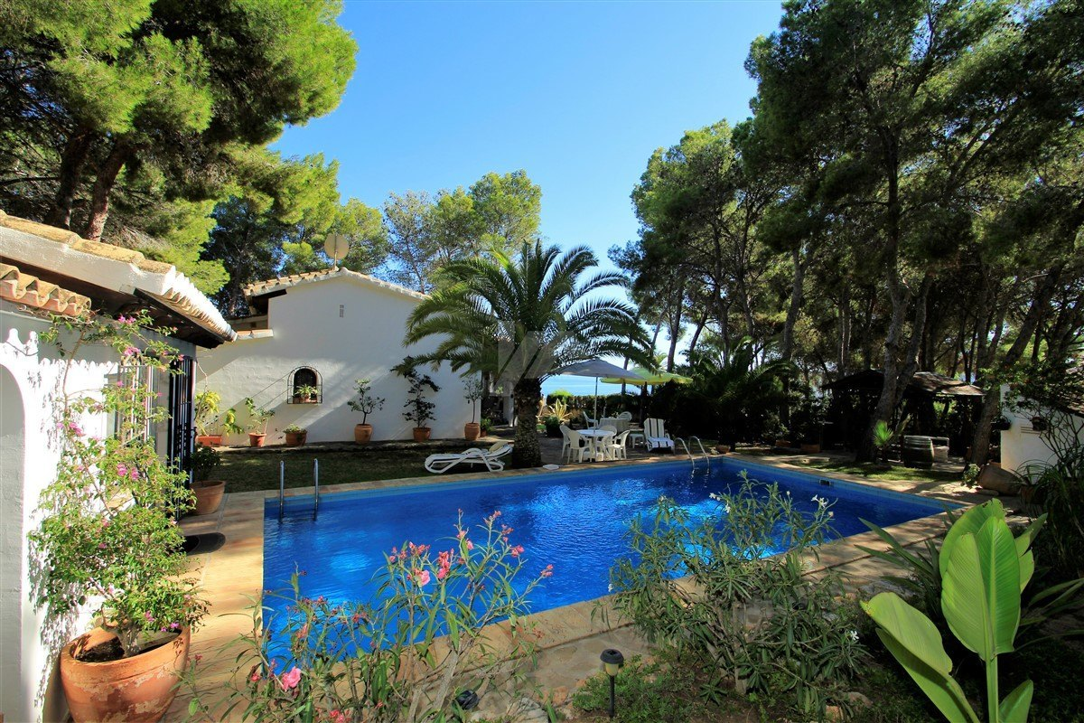 Sea view villa for sale in Benissa, Costa Blanca.