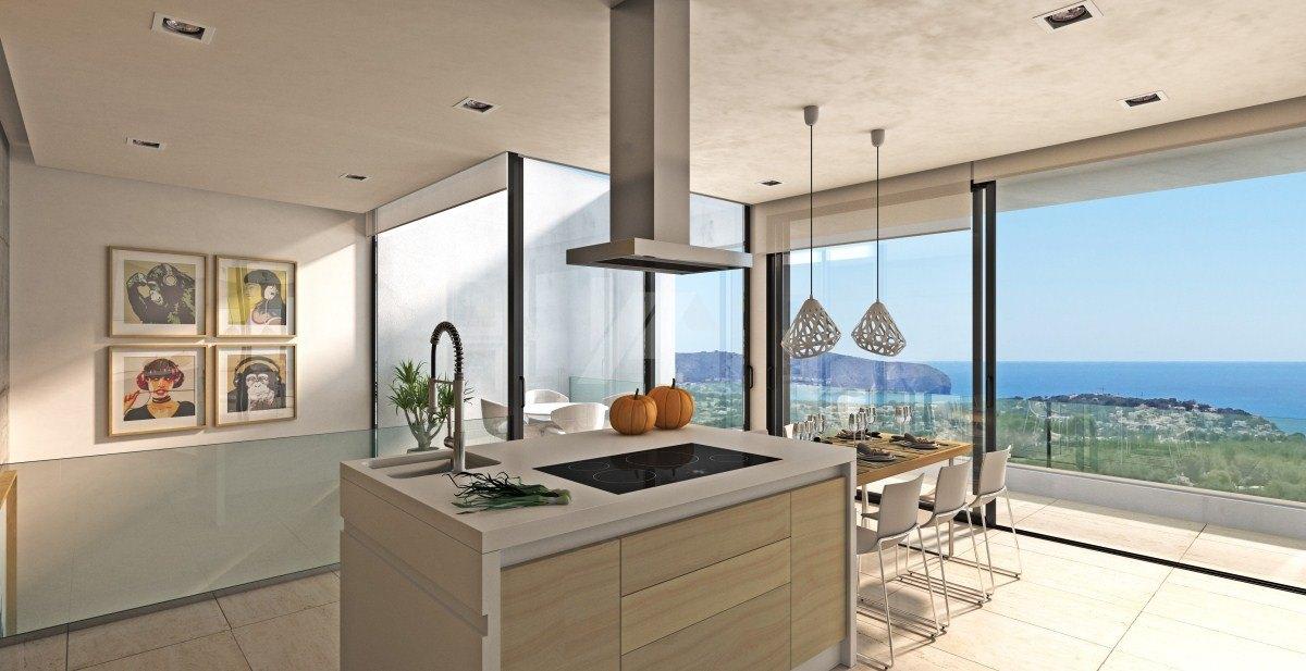 Luxury sea view villa for sale in Moraira, Costa Blanca.