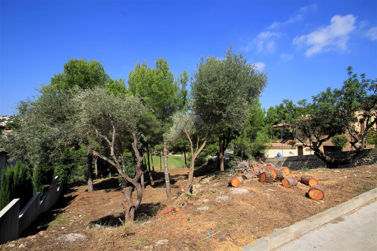 Plot with mountain views for sale in Benissa, San jaime.