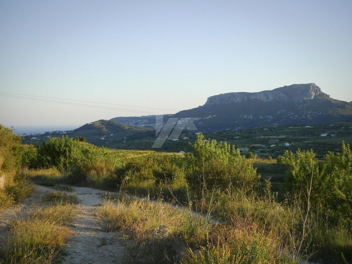 Sea view plot for sale in Benissa, Costa Blanca.