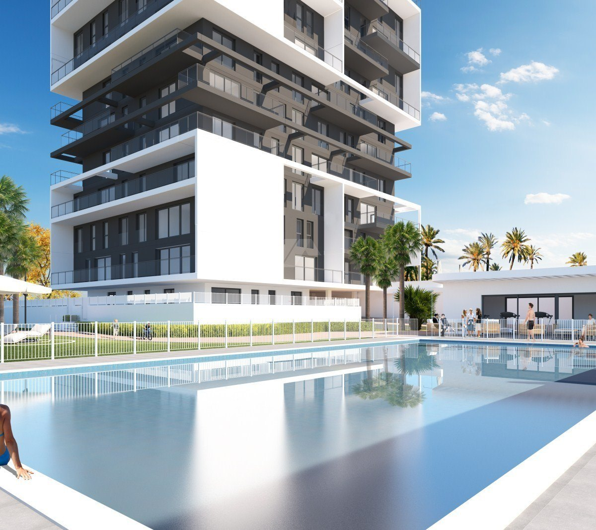 Sea view apartment for sale in Calpe, Costa Blanca.