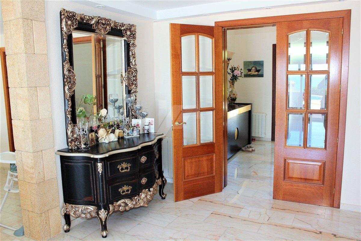 First line villa for sale in Benissa, Costa Blanca.