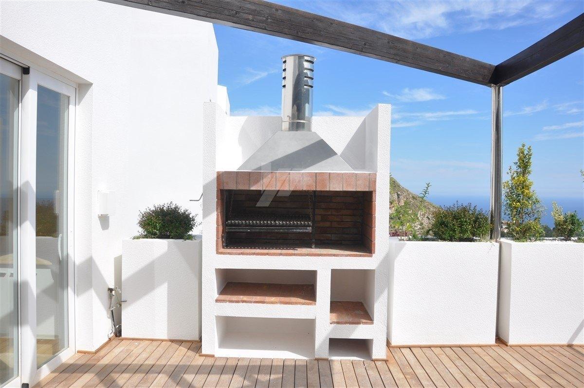 Sea view villa for sale in Altea, Costa Blanca.