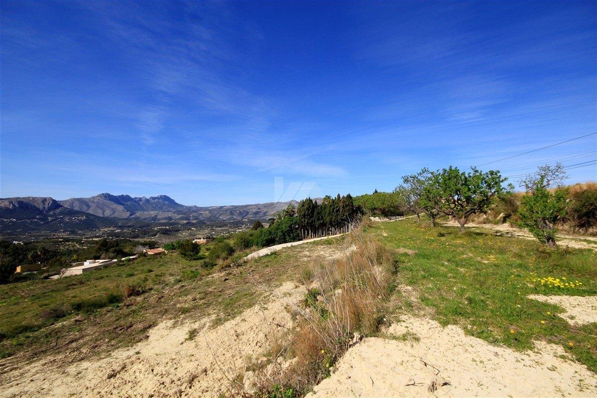 Plot for sale in Benissa, Costa Blanca.