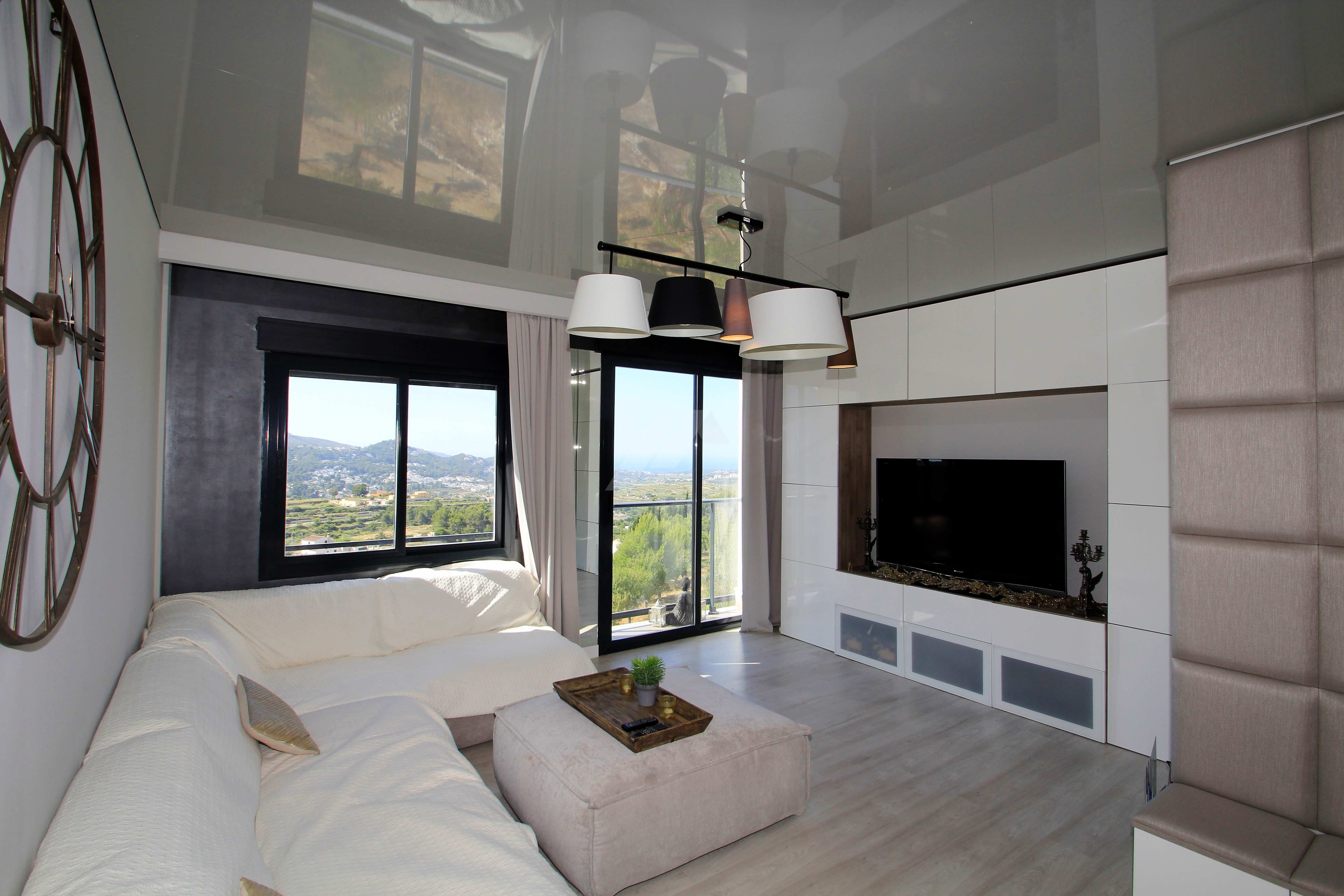 Modern apartment for sale in Benitachell, with sea views