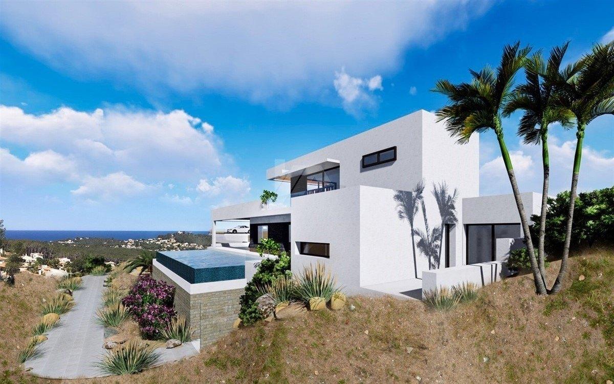 Sea view villa for sale in Javea, Costa Blanca.