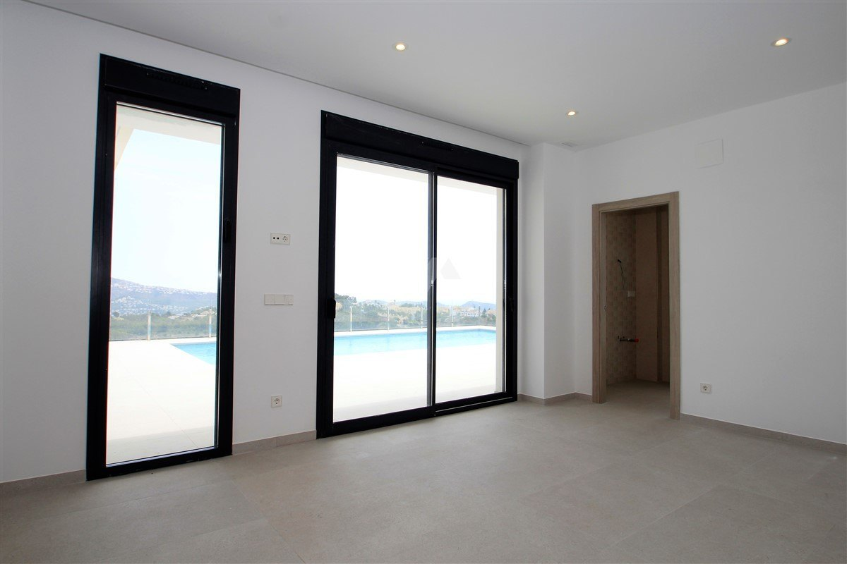 Sea view new build for sale in Moraira, Costa Blanca.