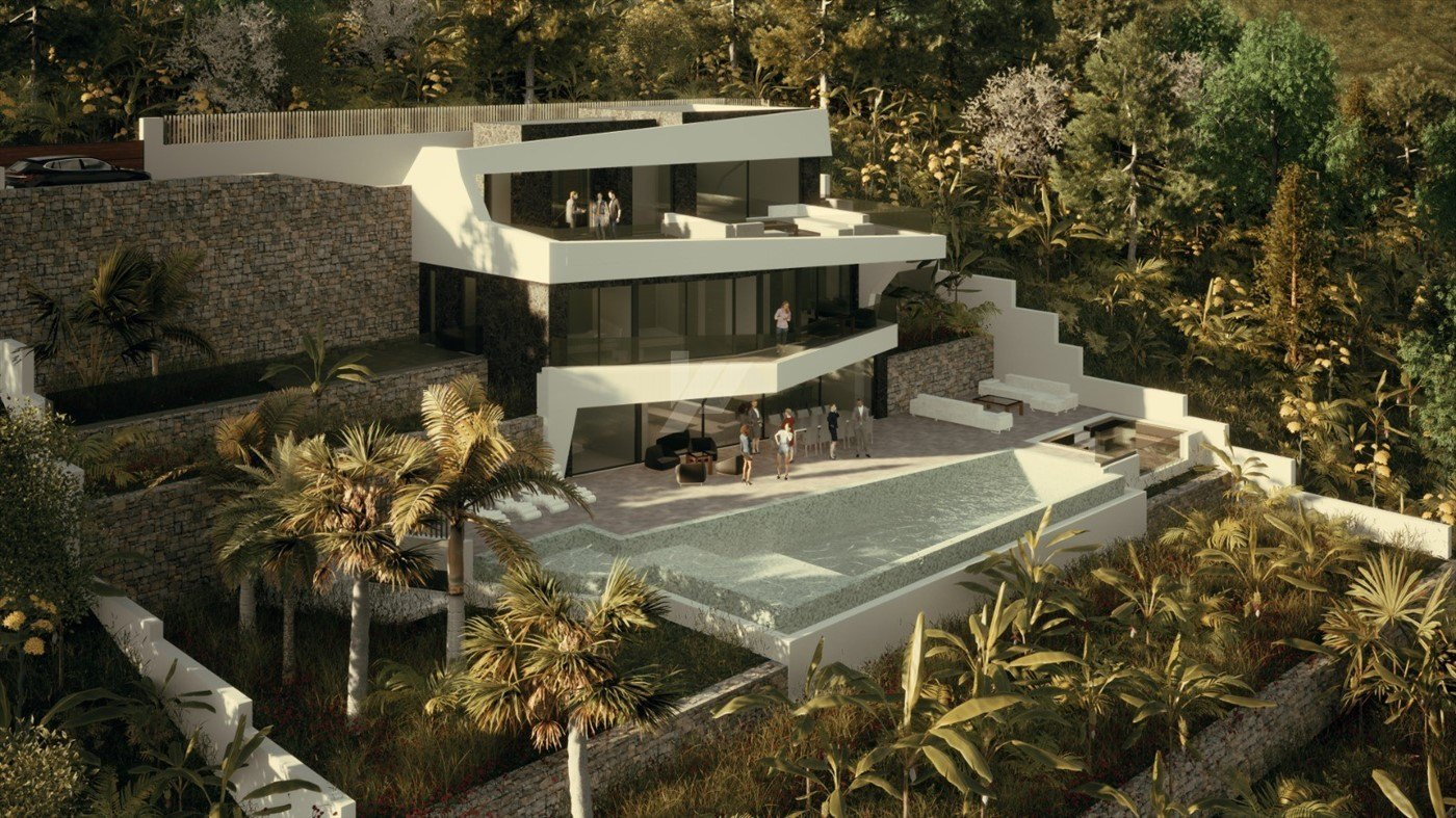 Luxury sea view villa for sale in Benissa, Costa Blanca.