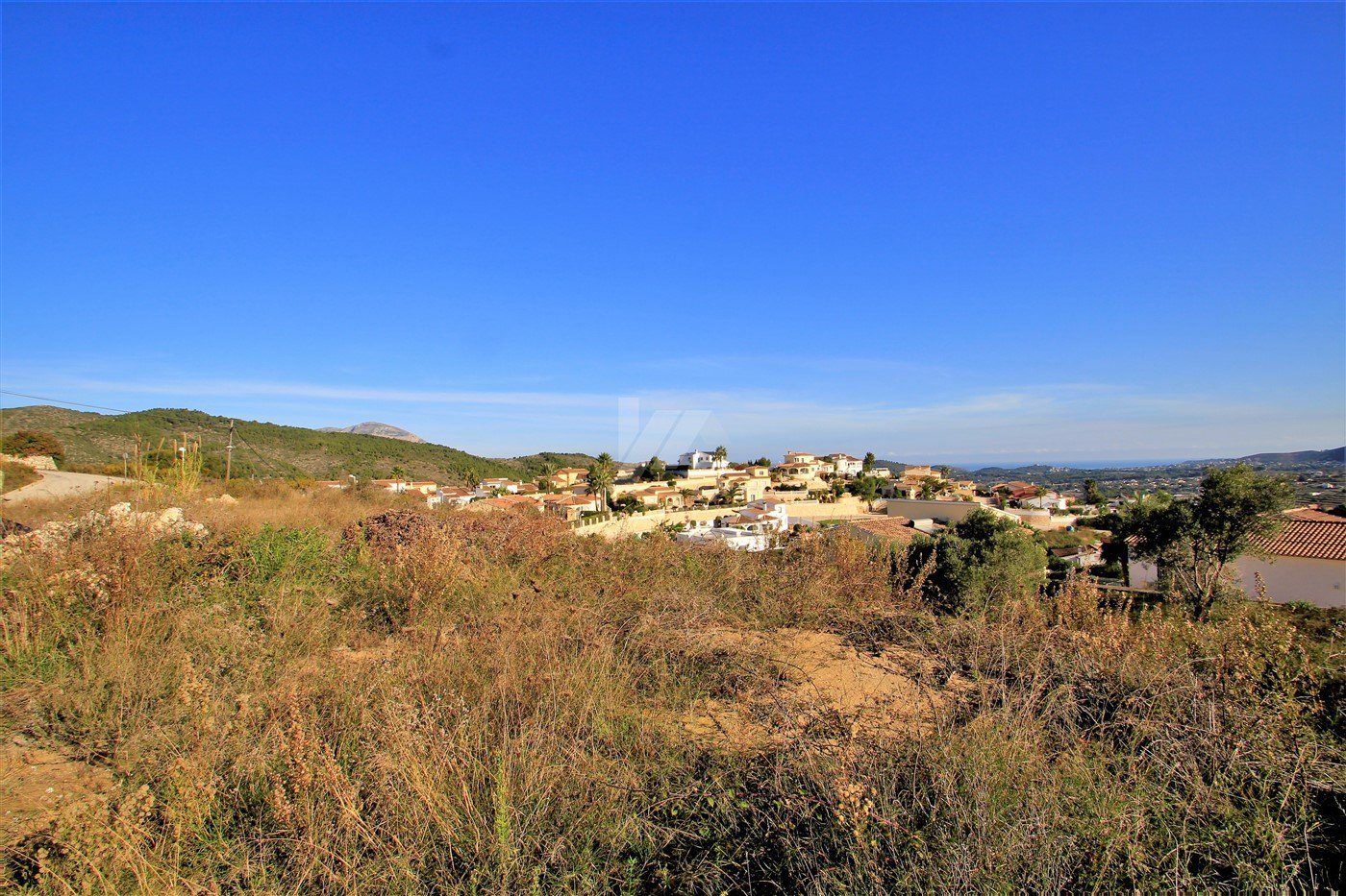 Sea view plot for sale in Benitachell, Costa Blanca.