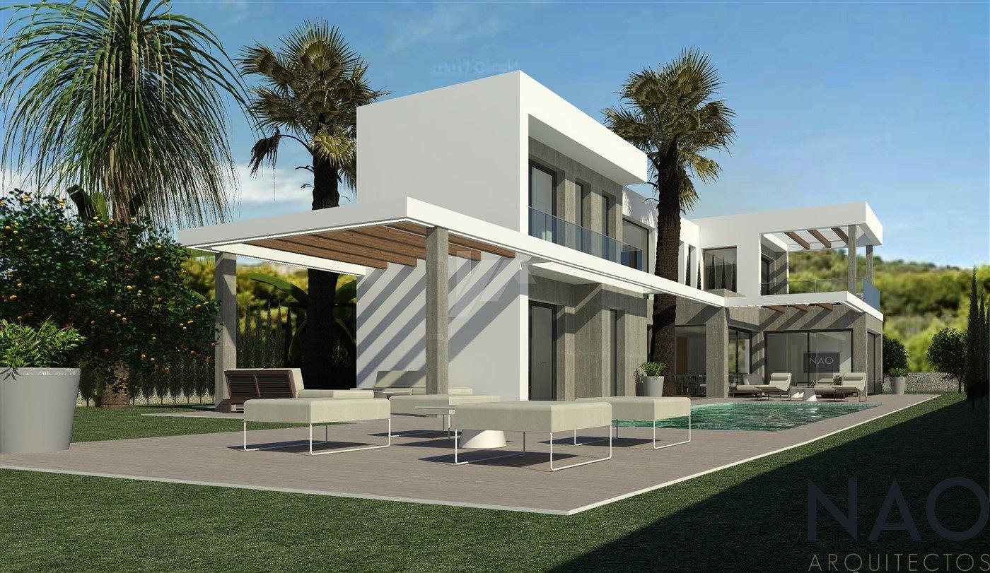 New build villa for sale in Javea, Costa Blanca.
