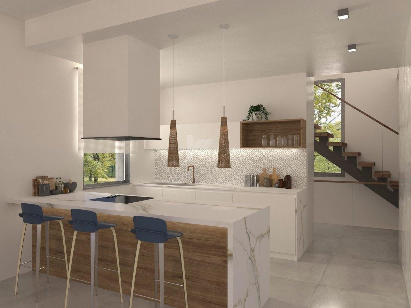 New build villa for sale in Calpe, Costa Blanca.