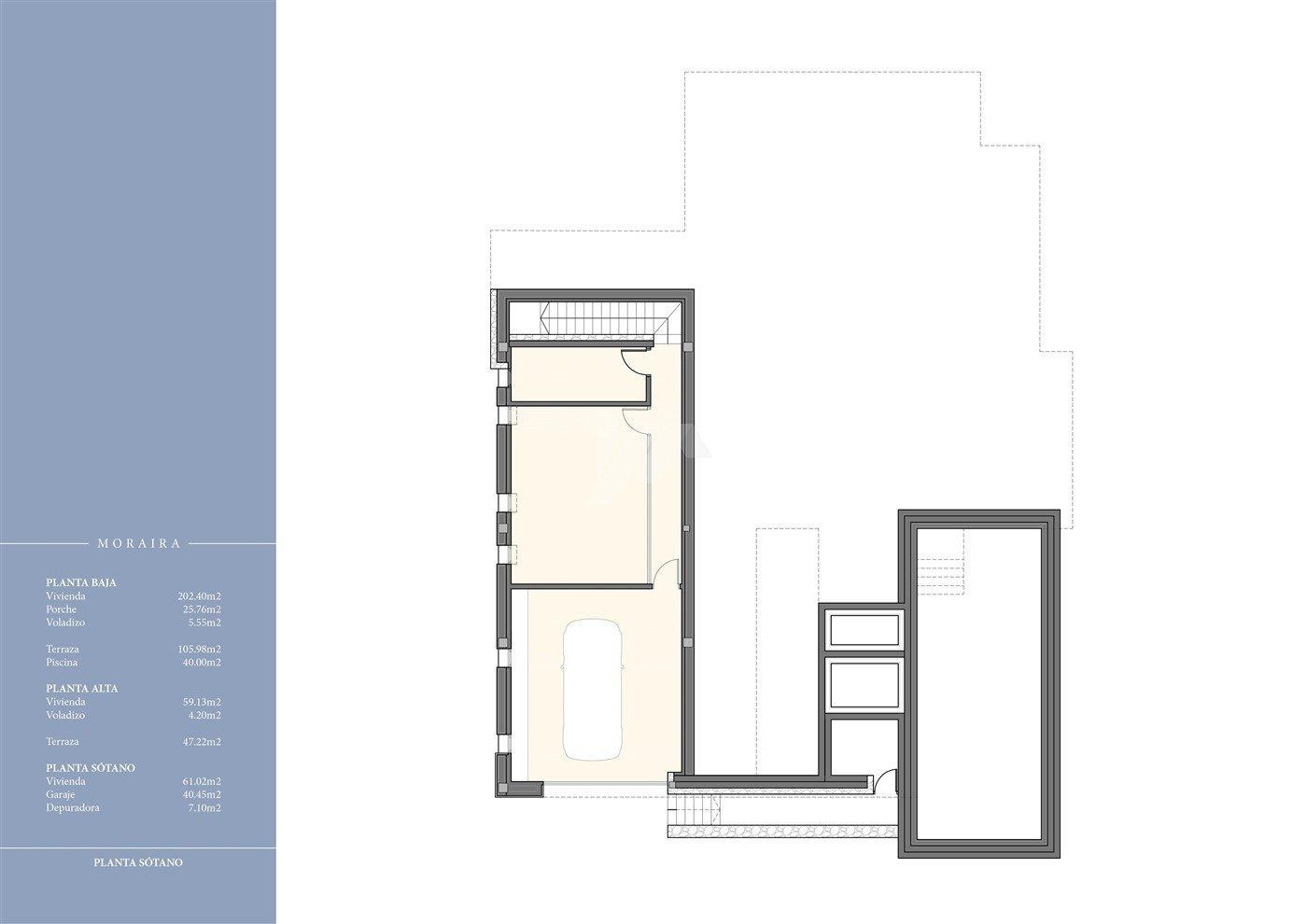 Luxury new build villa for sale in Moraira, Costa Blanca.