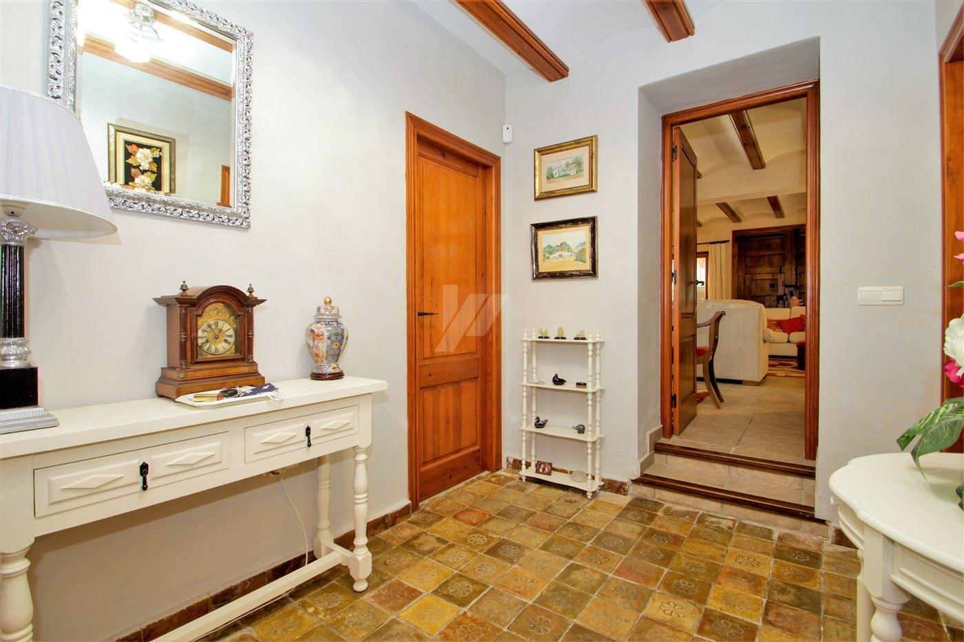 Finca for sale in Benissa, Costa Blanca.