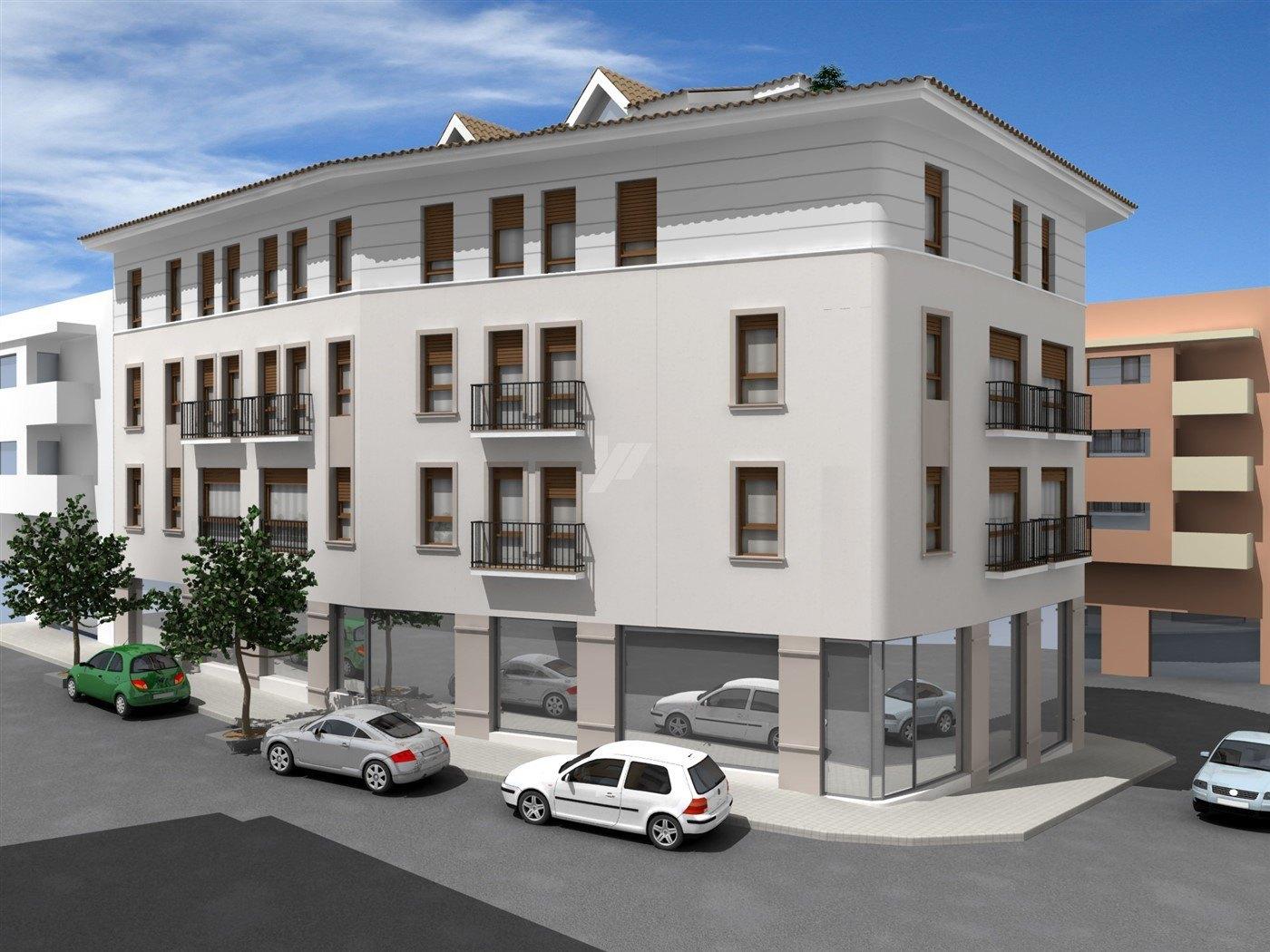 New build apartment for sale in Moraira, Costa Blanca.