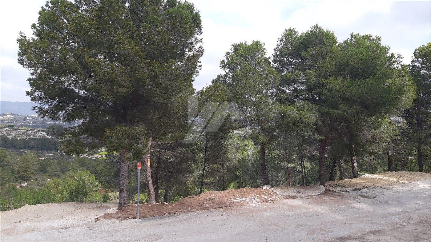 Plot for sale in Moraira, Costa Blanca.
