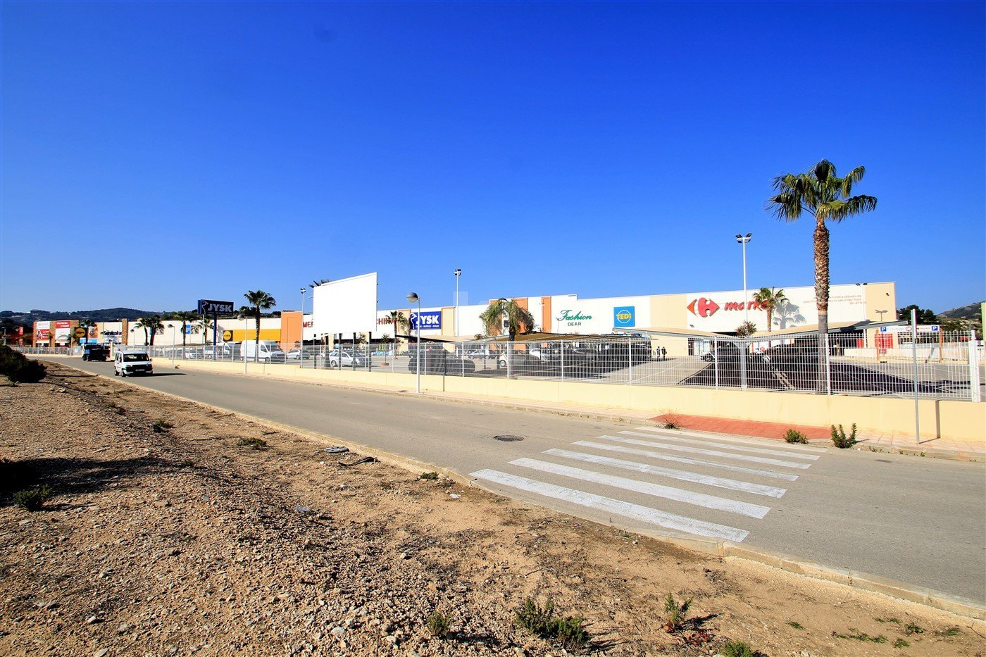 Commercial land for sale in Moraira, Costa Blanca.