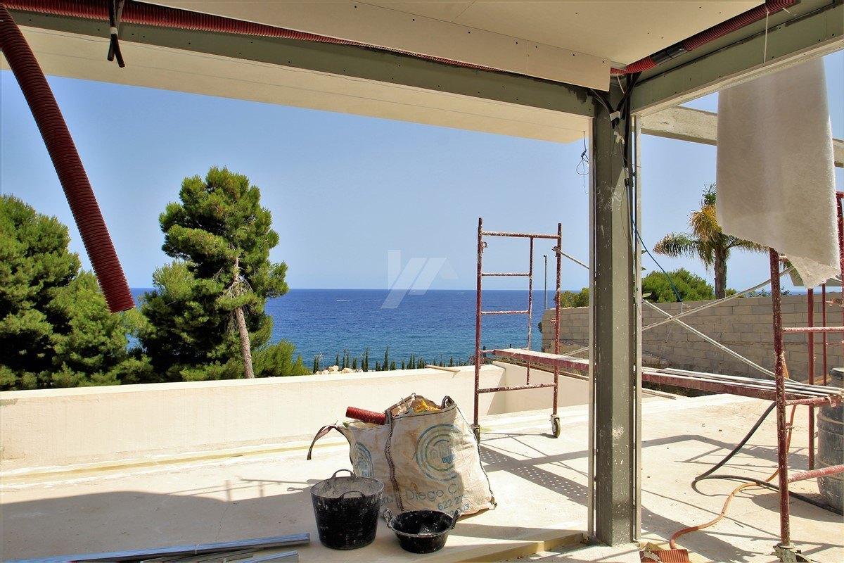 Sea view villa for sale in Benissa, Costa Blanca.