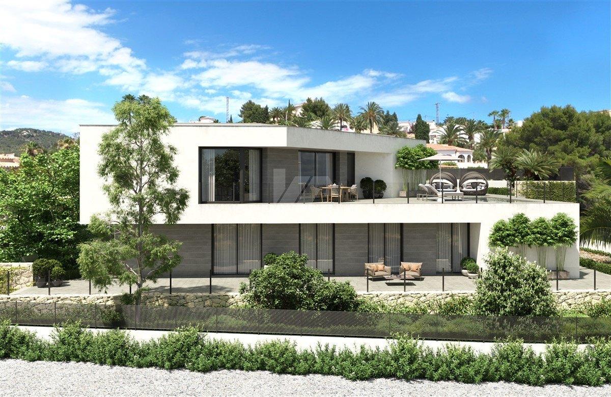 Sea view villa for sale in Calpe, Costa Blanca.