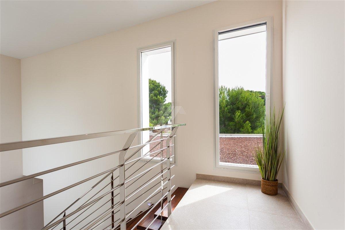 Sea views modern villa for sale in Moraira.