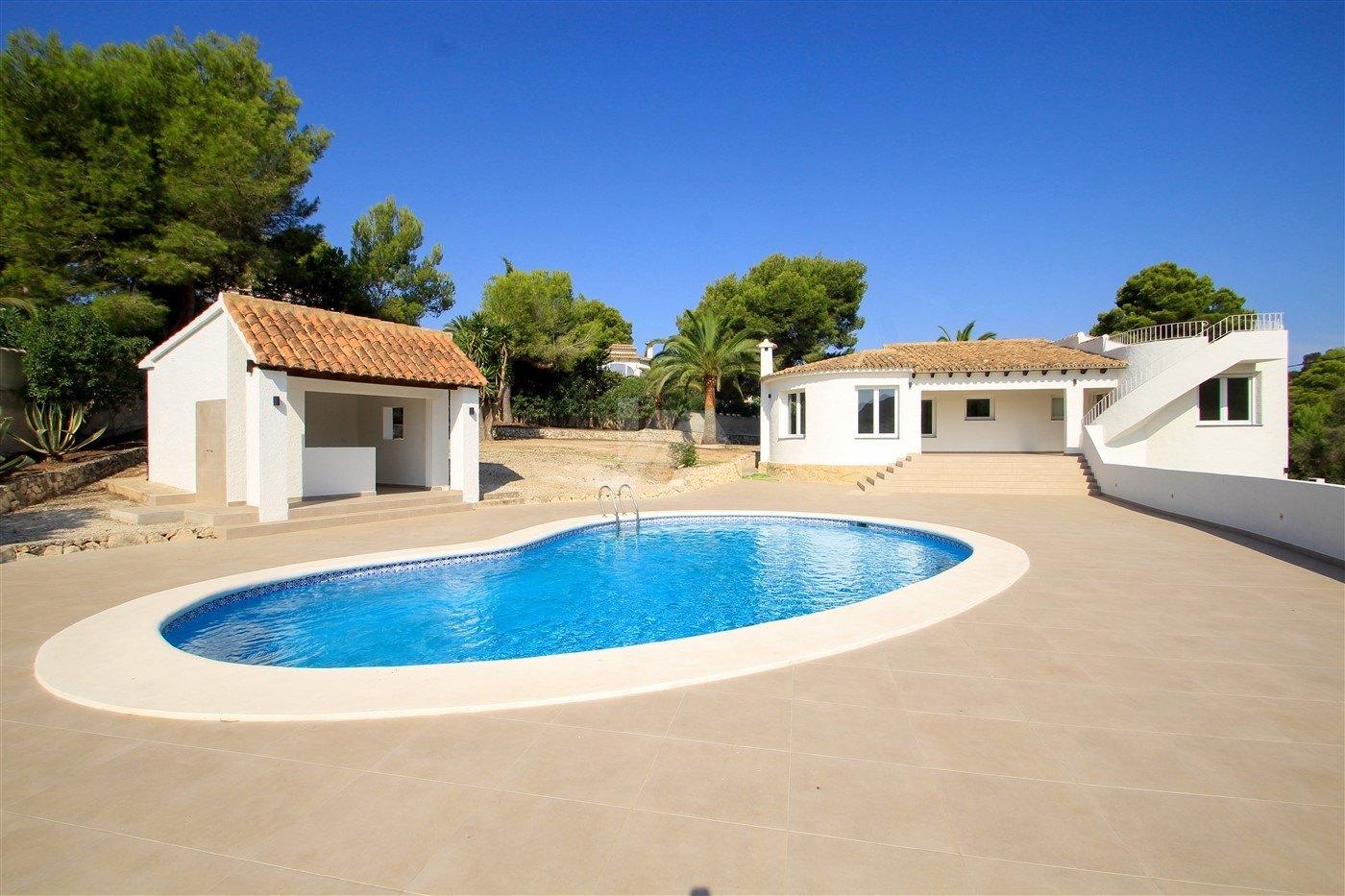 Reformed Villa for sale in Moraira, Costa Blanca.