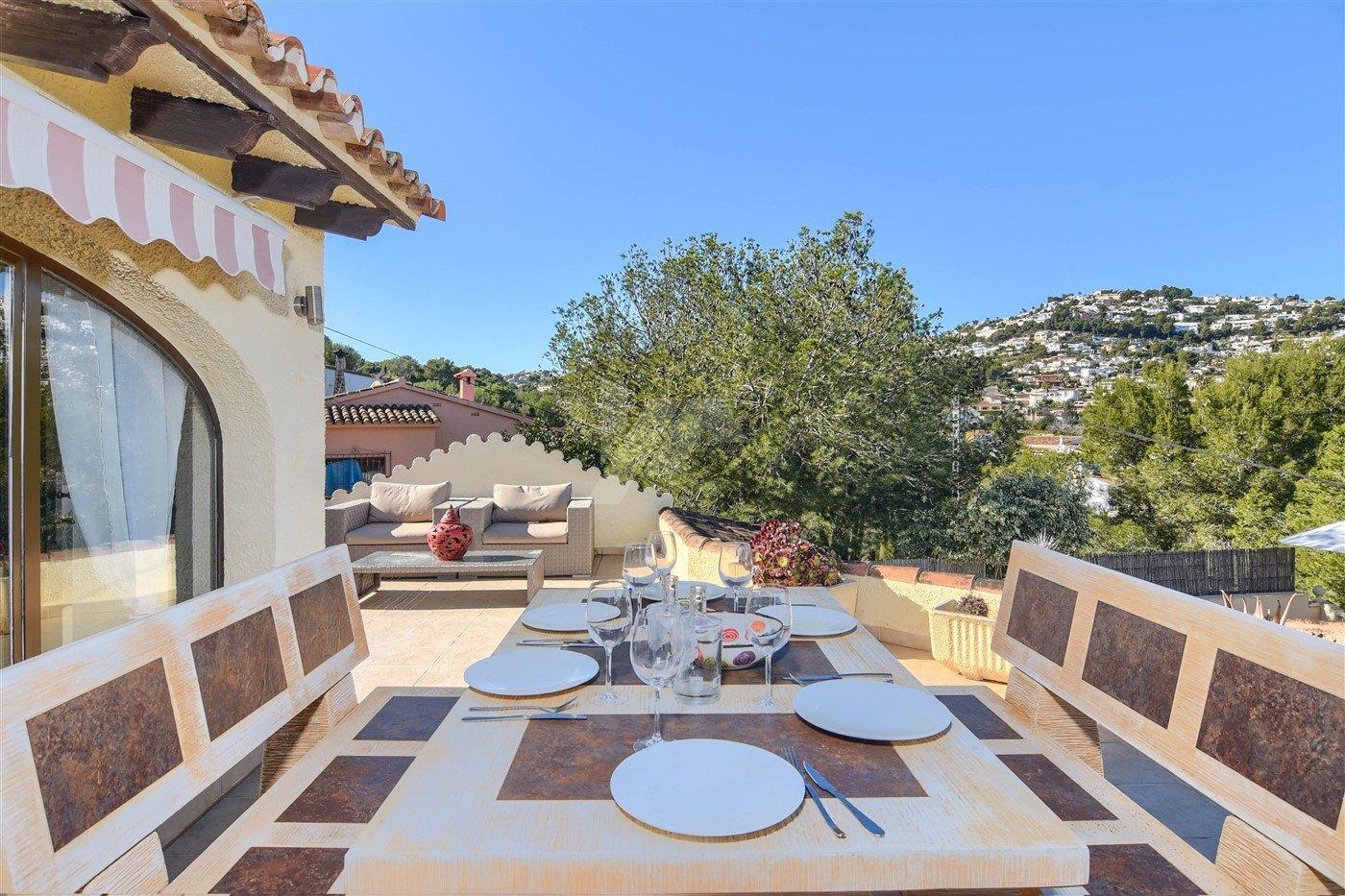 Villa for sale in Moraira, walking distance, Costa Blanca.